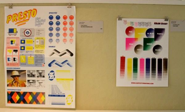 Presto Editions, Print Guide (left) Soft City Press, Print Guide (right)