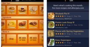 aplicaciones cocina iPhone