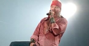 Axl Rose, el mejor cantante de la historia según Music Radar