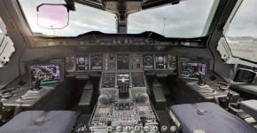 Cabina de avion Airbus A380