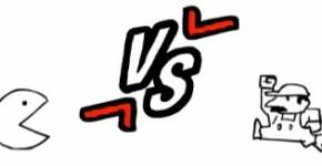 Pac Man vs Mario Bros