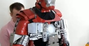 Traje de Iron Man por Ryan Brooks