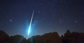 Lluvia de meteoros de las geminidas
