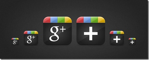Iconos Google Plus de Seriftuts