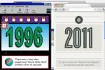 Internet de 1996 y 2011