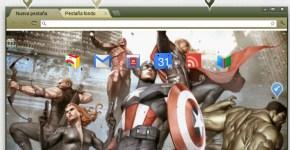 Temas personalizados en Chrome