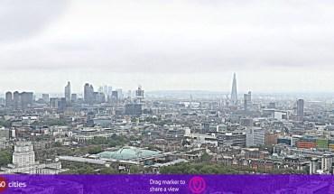 22-02-2013 Foto gignte de la ciudad de Londres, Inglaterra