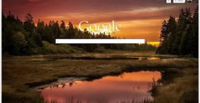 Google fondo de pantalla en el buscador