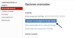 Youtube en Google+