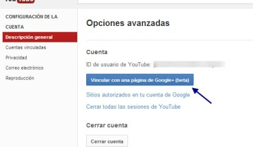 Youtube en Google+