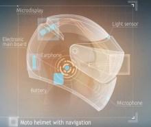Cascos para motociclistas del futuro
