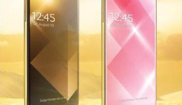 Samsung Galaxy S4 Oro y rosado