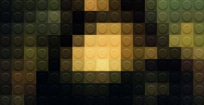 La Mona Lisa en Lego