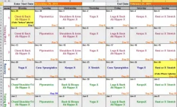 search results for p90 workout schedule calendar calendar 2015