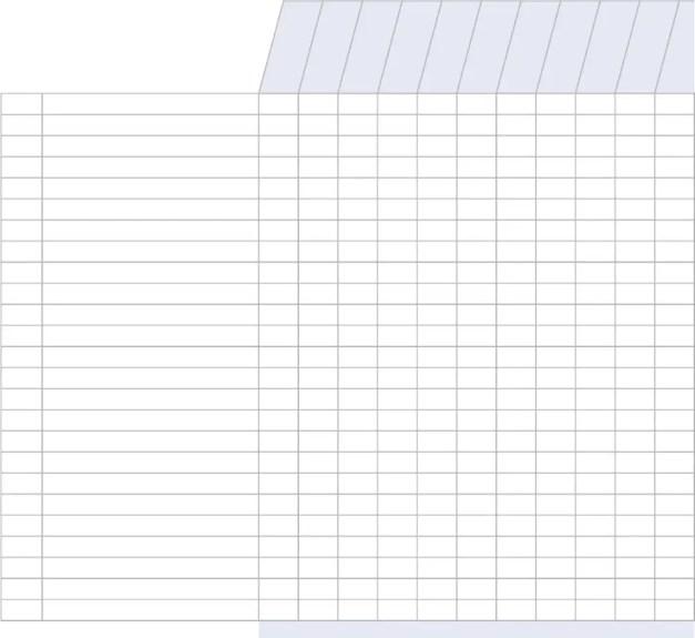 Attendance Register Templates - Excel xlts