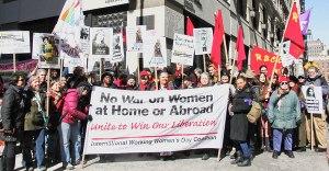 New York City, March 9.WW photo: Brenda Ryan
