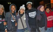Dream Defenders traveled from Florida. WW photo: Sharon Black