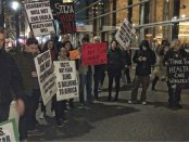 Protest in solidarity with people with Ebola and against stigma at New York Governor Cuomo's office.Photo: ACTUPNY.com