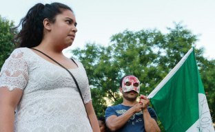 Angelica Lara from the Ayotzinapa Student Front