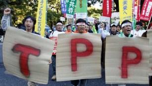 Farmers in Japan.
