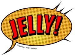 Jelly Logo - casual get togethers for homeworkers & freelancers