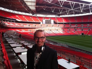 Working from home - Adam Bates, sports commentator