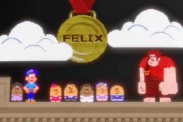 Can Wreck-It Ralph earn himself a medal like Felix?