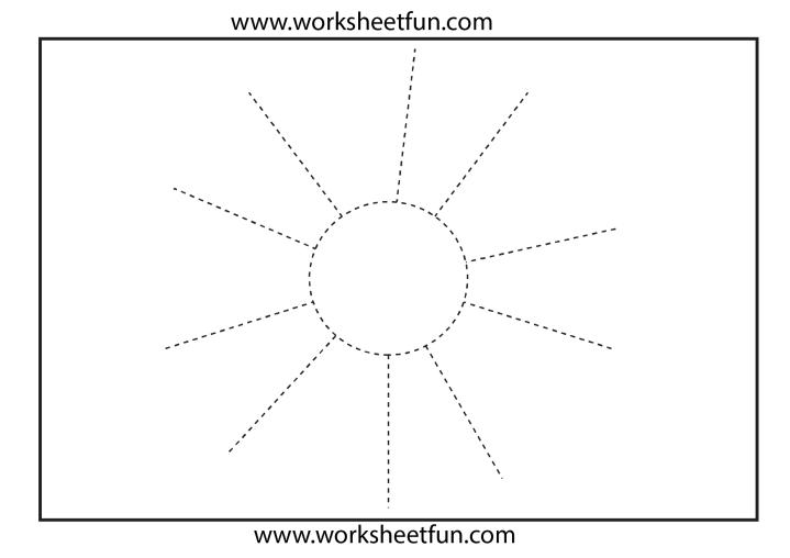 Free Printable Tracing Worksheets Preschool
