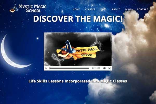 WordPress-design-Mystic-Magic-School