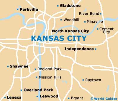 map of kansas city and surrounding