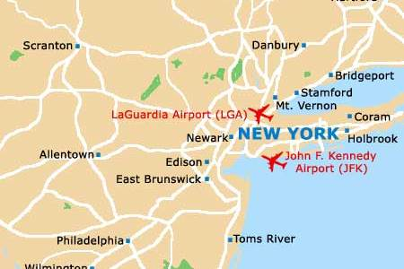 US Airports Map Airports In USA Miami International Airport - Us airports map