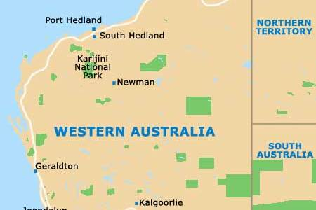 map world perth