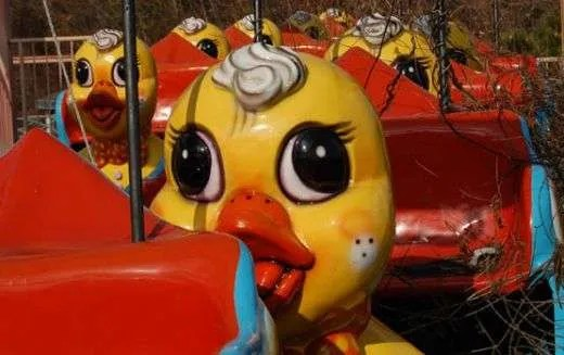 The tragic duck ride at Okpo Land