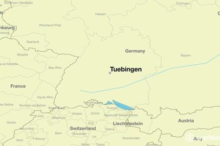 57713 tuebingen locator map