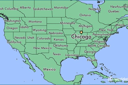 where is chicago, il? / where is chicago, il located in