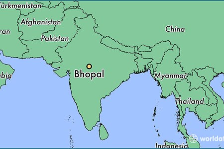 where is bhopal, india? / where is bhopal, india located
