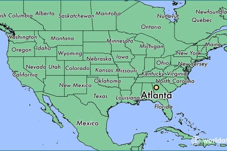 where is atlanta, ga? / where is atlanta, ga located in