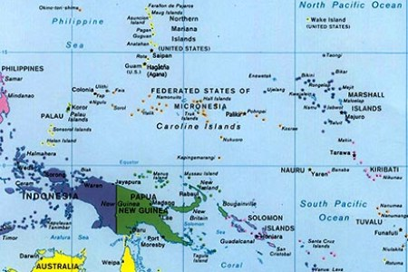 Map Of The US Pacific Islands Region Updated PIRCA Pacific - Us pacific islands map