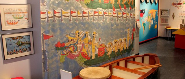 take a trip around the world without leaving the Museum!