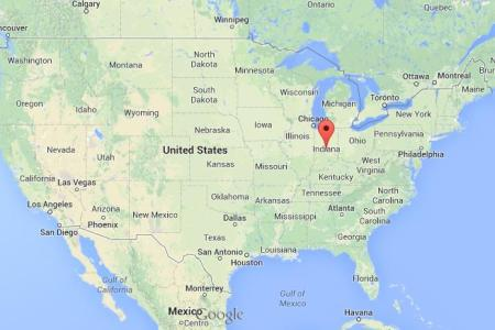 where is indiana on map of usa | world easy guides