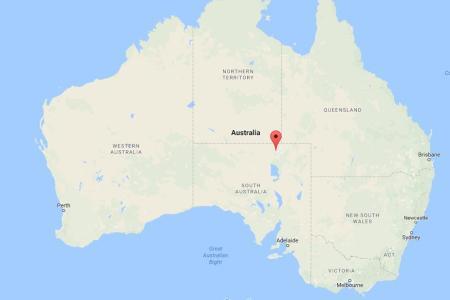 where is simpson desert on map australia