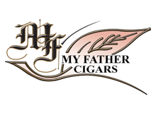 my father cigar logo - world famous cigar bar