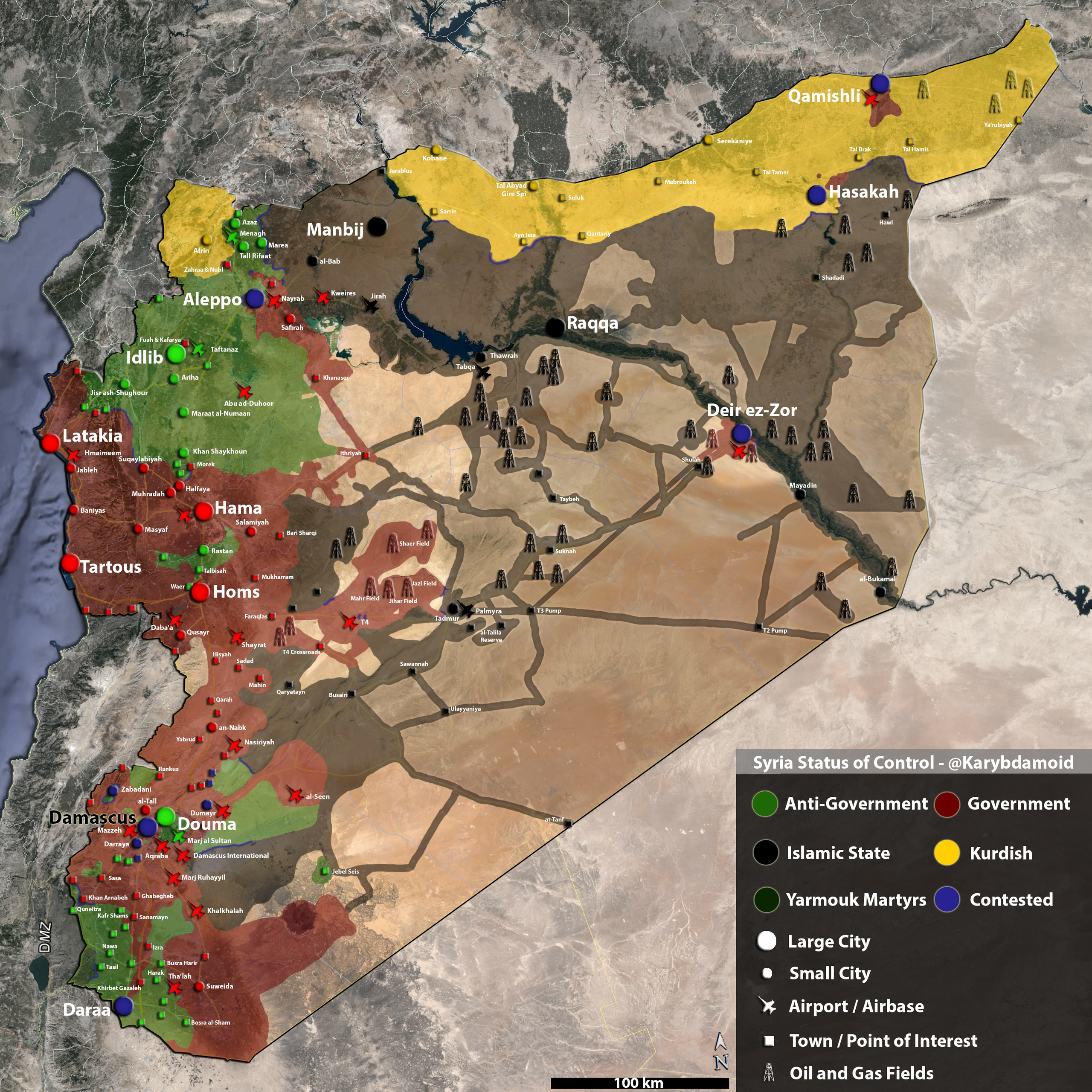 MAP LIVE CRISIS OF UKRAINE World In War - Syria interactive map