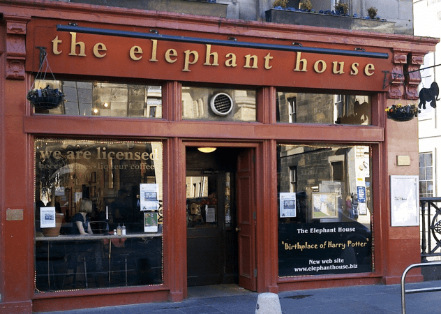 Where it all began - the Elephant House Cafe