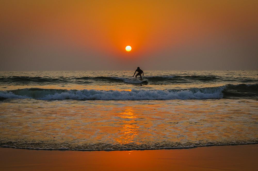 Goa, Sunset