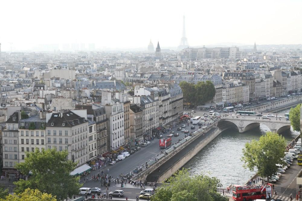 Atop Notre Dame