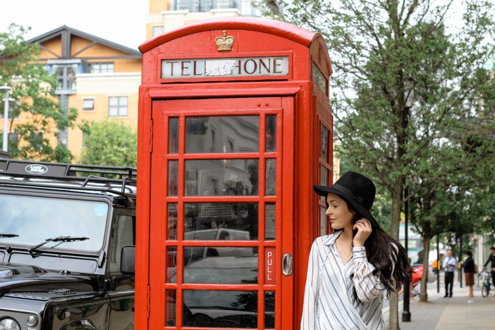 Brooke Saward in London
