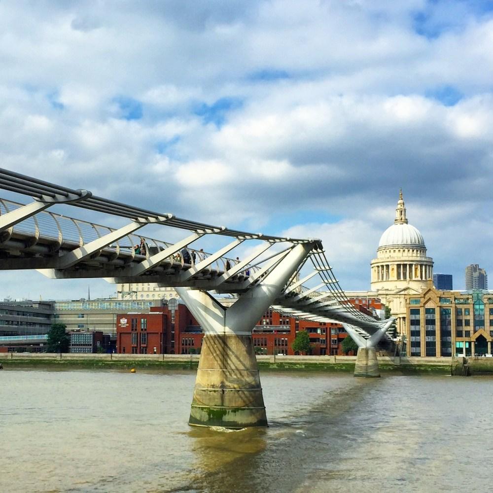 Millenium Bridge Harry Potter