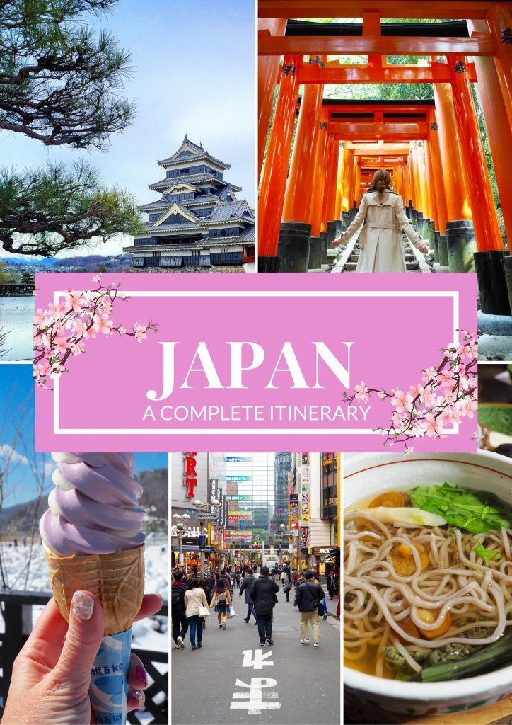 JAPAN - A Complete Itinerary