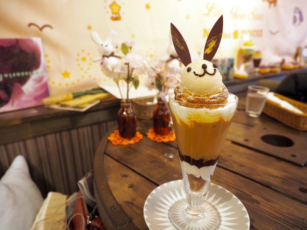 Bunny Cafe in Omotesando